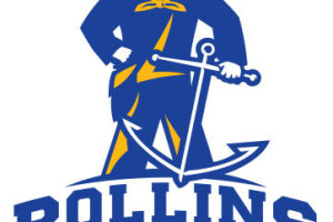 rollins college mens and womens soccer program logo
