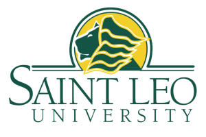 saint leo university womens and mens soccer logo