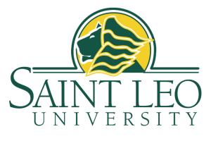 saint leo university womens and mens soccer logo