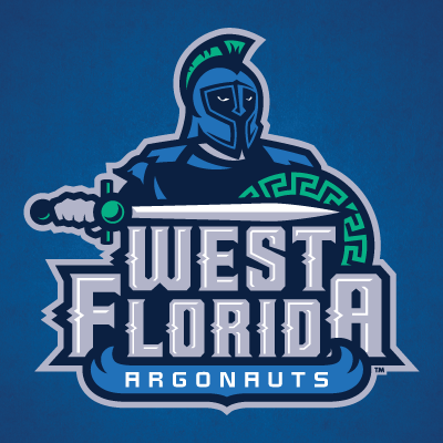 university of west florida uwf womens and mens soccer logo