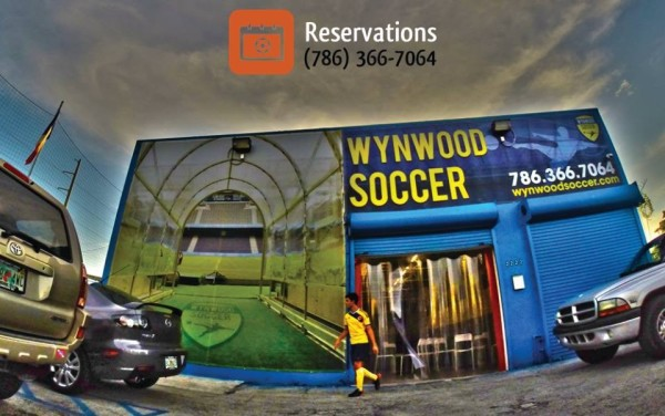 indoor soccer complex in wynwood miami