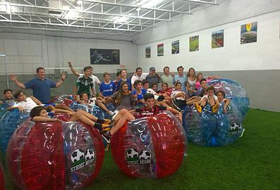 wynwood indoor and outdoor bubble soccer