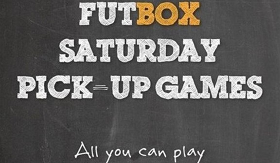 FUTOX Saturday's Pick-Up Games