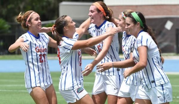 uf university of florida gators womens soccer vs fsu florida state university