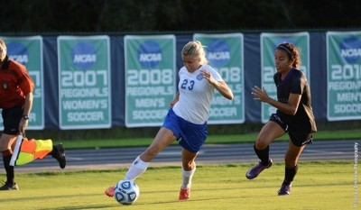 uwf university of west florida womens soccer team vs lynn university 2015