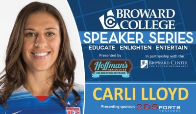BCSS_CarliLloyd_in broward county florida soccer