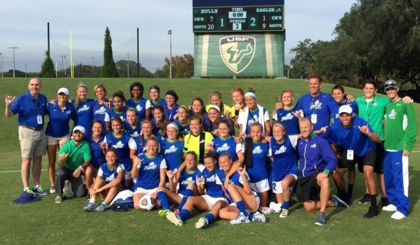 florida gulf coast university fgcu womens soccer vs usf university of south florida soccer