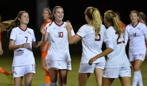 florida state university womens soccer vs Evansville