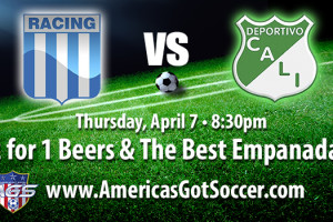 racing club argentina vs deportivo cali colombia