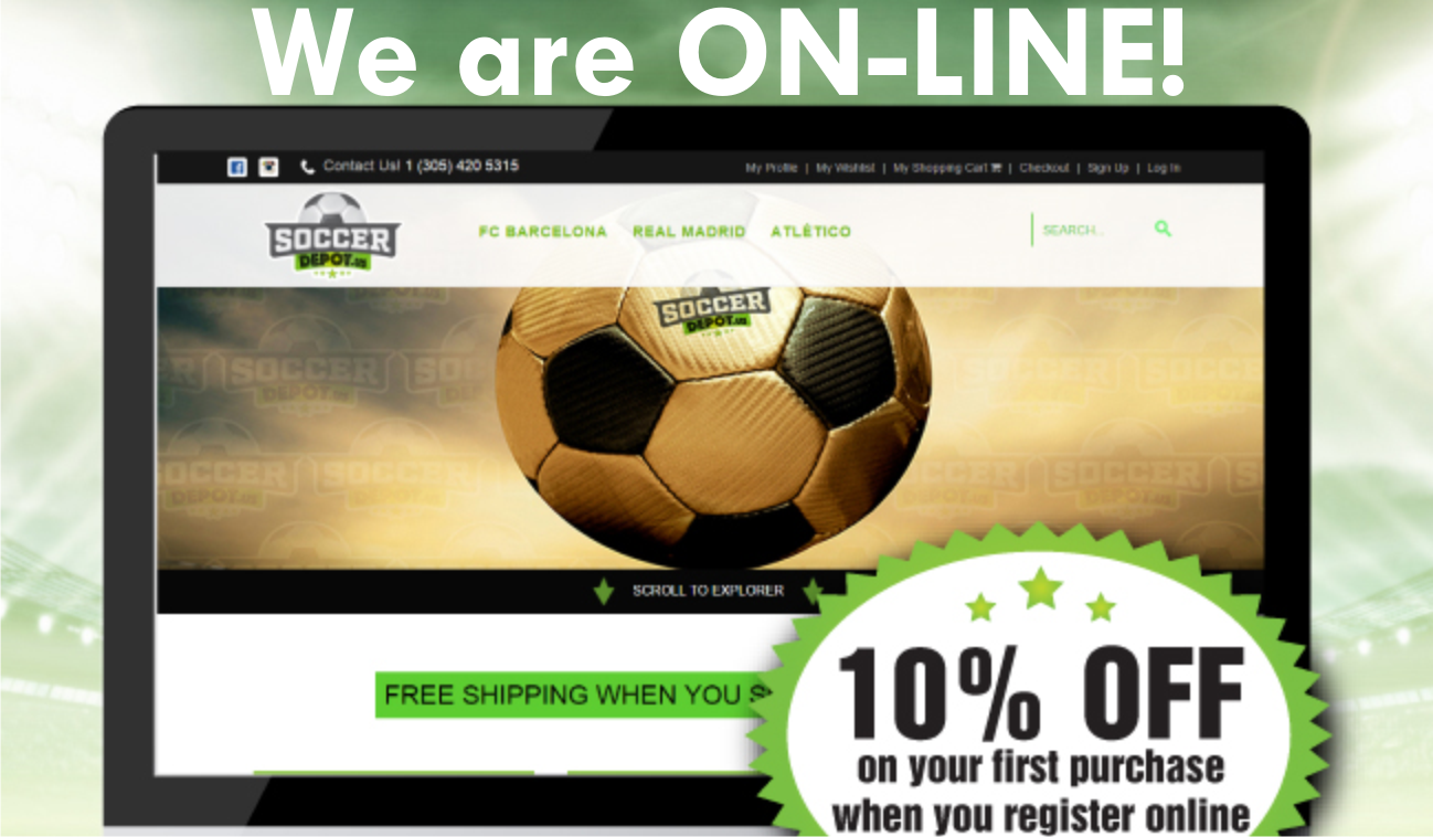 info for 27159 87999 Soccer Depot Online Soccer Store - Miami, FL | South Florida ...